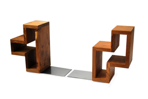 Tetris bookends - Alternature