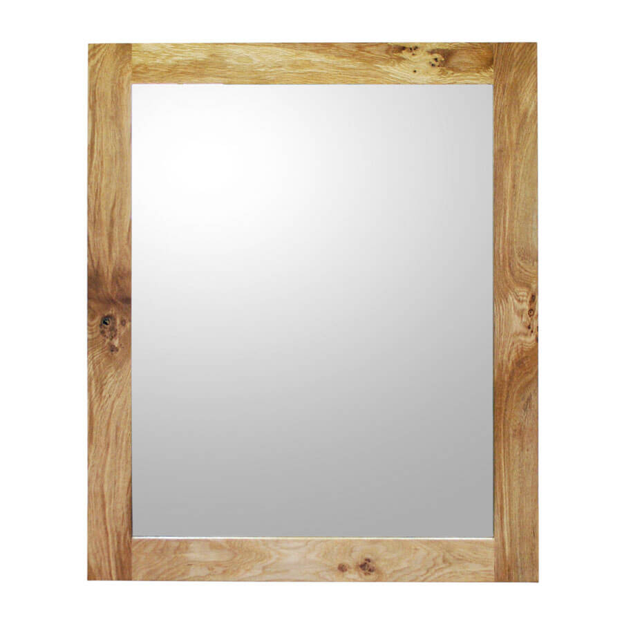 Oak Framed Mirror Handmade In Uk Size Xl Boot Amp Saw