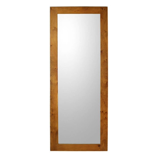 Full Length Mirror in solid Oak