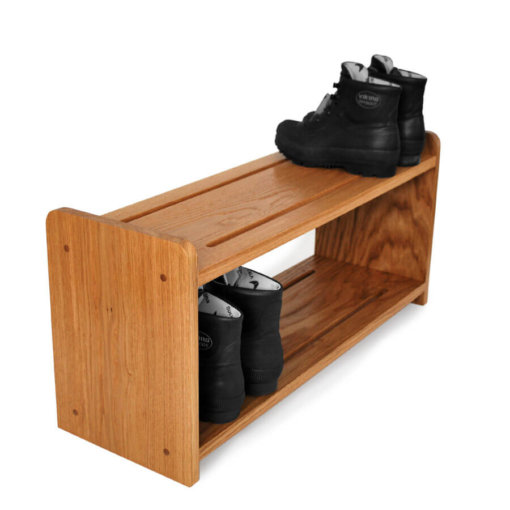 Oak Shoe Racks in various sizes