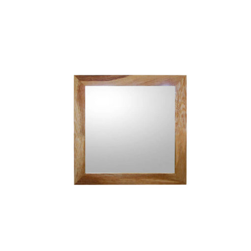 Small Oak framed mirror