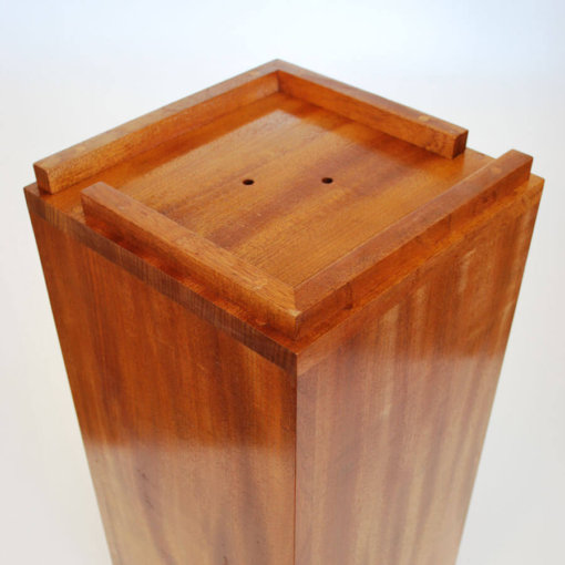 Mahogany Umbrella Stand Base