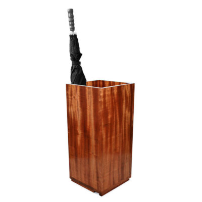 Mahogany umbrella Stand for sticks and brollies