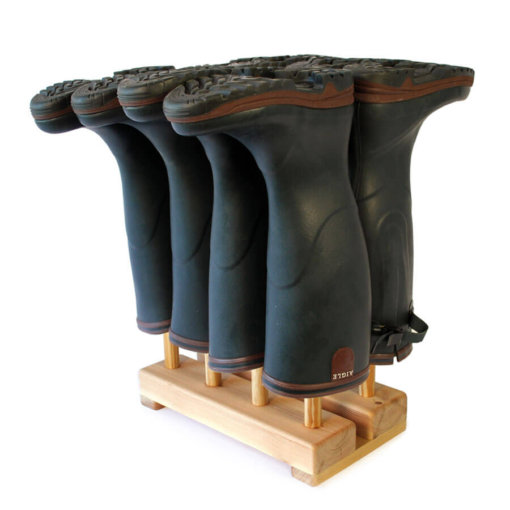Welly Boot Stand for 4 pairs of wellingtons