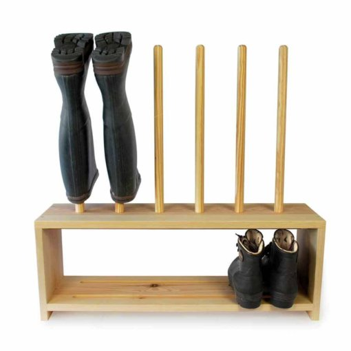 Welly Boot Rack for 3 pairs of shoes and wellingtons