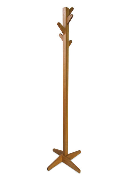 'Coat Tree' Coat Stand in solid Oak